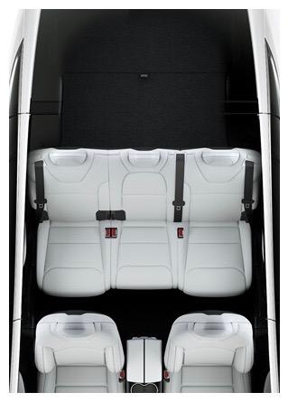 テスラ モデルX 5シート