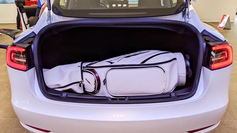 テスラ モデル3 キャディーバッグ 1個積み
