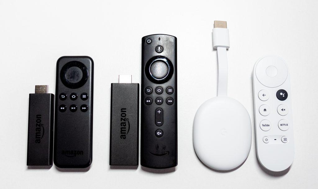 Google Chromecastサイズ比較